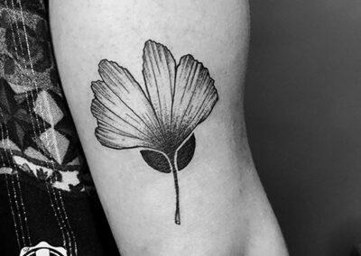 Surimi blackwork tattoo
