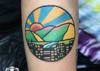 tatuajes a color | mini tattoo