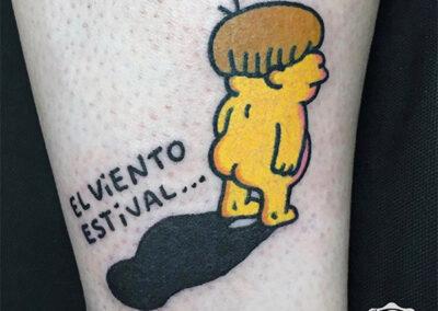 cartoon tattoo | simpsons