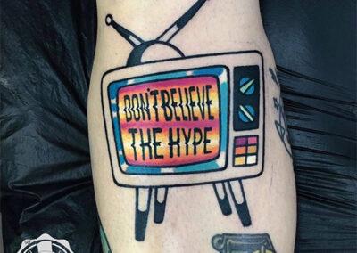 tatuajes a color | television