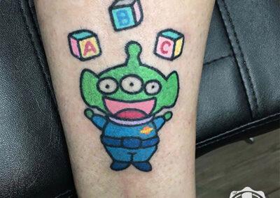 cartoon tattoo | tatuajes pequeños