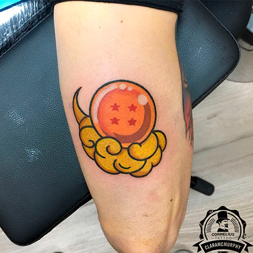 Cartoon tattoo
