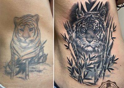 tatuajes cover tigre