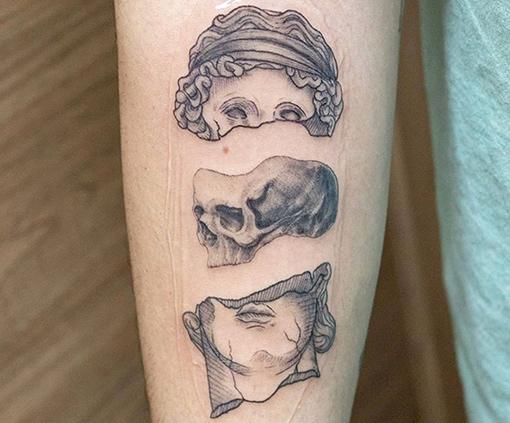 dotwork tattoo Jimena Outon
