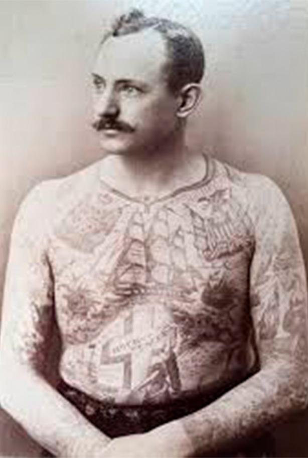 tatuajes old school foto vieja