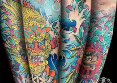 tatuajes japoneses en Madrid