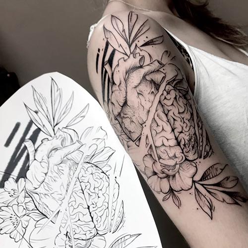 tatuajes en el brazo mujer