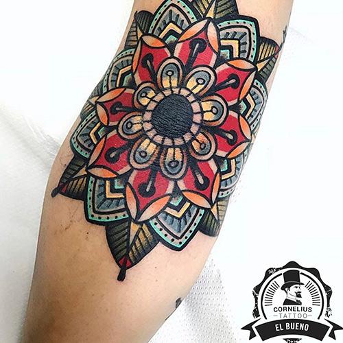 tatuajes en la pierna old school