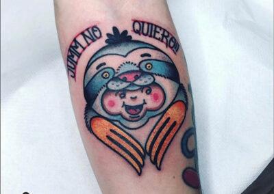 tatuajes old school kewpie