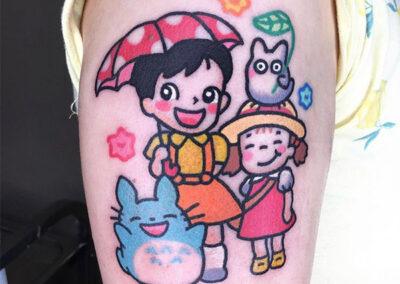 cartoon tattoo estudio ghibli | ClaraMcMurphy