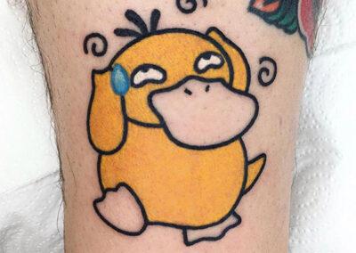 cartoon tattoo pokemon