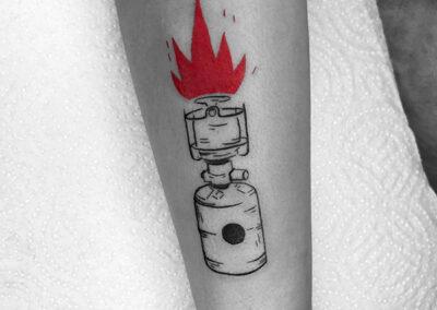 mini tattoo antebrazo
