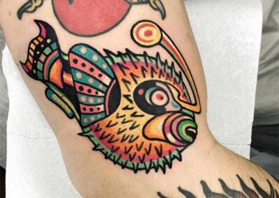Tatuajes a color para tatuarse en Madrid