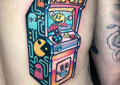 tatuajes a color en estudio de tatuajes en Madrid