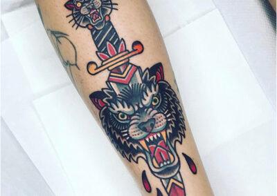 Tatuarse en Madrid tatuajes old school